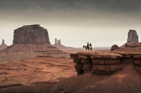 «The Searchers» (1956) av John Wayne.