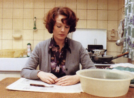 «Jeanne Dielman, 23, Quai du Commerce, 1080 Bruxelles» (1975) av Chantal Akerman.